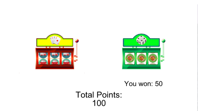 Effects of Winning Cues and Relative Payout on Choice between Simulated Slot Machines